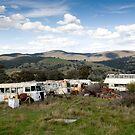 Graveyard of Buses #2 by Mark Elshout
