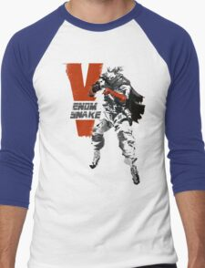 MGSV Retro Venom Snake Men's Baseball ¾ T-Shirt