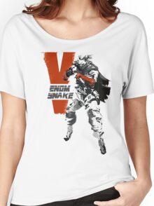 MGSV Retro Venom Snake Women's Relaxed Fit T-Shirt