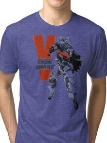 MGSV Retro Venom Snake Tri-blend T-Shirt