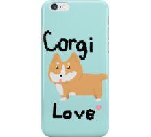 Pixel Corgi Love iPhone Case/Skin