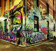 Melbourne Graffiti by Mark Shean