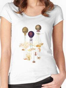 High in the Sky Women's Fitted Scoop T-Shirt