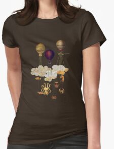 High in the Sky Womens Fitted T-Shirt