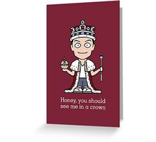 Jim Moriarty (card/notebook/phone) Greeting Card