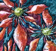 Poinsettia 2 by Marsha Elliott