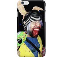 PSYCHO SCREAMING  RAVE RABBIT iPhone Case/Skin