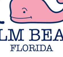 Vineyard Vines - I whale Palm Beach Sticker