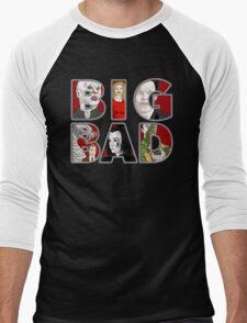 BIG BAD Men's Baseball ¾ T-Shirt