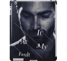 It's All My Fault iPad Case/Skin