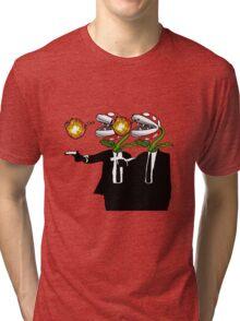 Piranha Fiction Version 4 Tri-blend T-Shirt