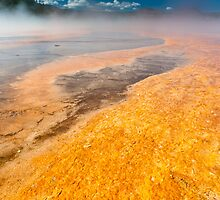 Agent Orange - Grand Prismatic Spring by Chris Tarling