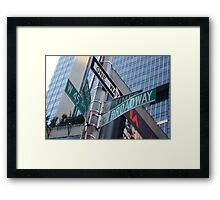 Which Way to Go? Framed Print