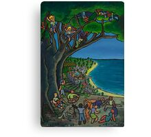 Community Lunch Canvas Print