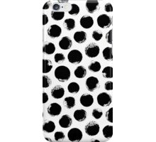 Grunge Polka Dot iPhone Case/Skin