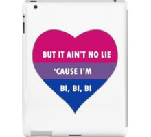 Bisexual/Biromantic Slogan iPad Case/Skin