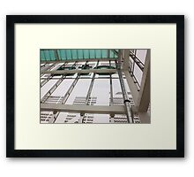 CTA Station Framed Print
