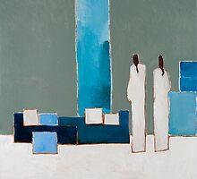 Blue Zen by Marc Dehareng