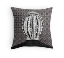 French Braid Danish Throw Pillow