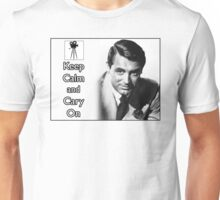 Keep Calm and Cary On Unisex T-Shirt
