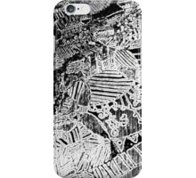 Charcoal Relief Print iPhone Case/Skin