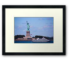 Statue of Liberty - New York City Framed Print