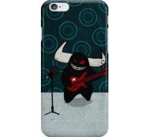fuzzy demon rockstar iPhone Case/Skin