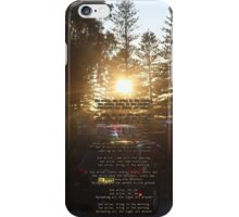Sunrise over Ramsgate.....Sydney.....NSW  iPhone Case/Skin