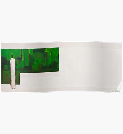 Zen Green I Poster