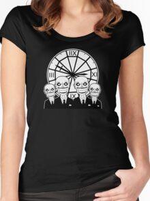 The Gentlemen Clocktower Women's Fitted Scoop T-Shirt