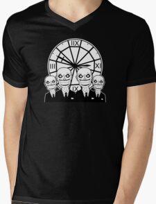 The Gentlemen Clocktower Mens V-Neck T-Shirt