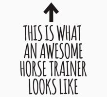 This is What an Awesome Horse Trainer Looks Like by Albany Retro