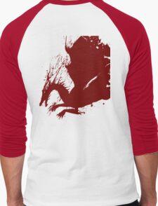 Dragon Logo Men's Baseball ¾ T-Shirt