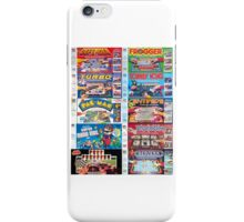 Arcade Board Games iPhone Case/Skin