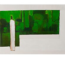 Zen Green II Photographic Print