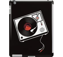 Record Player Audio Analog Vinyl Old School Music Geek Vintage Design iPad Case/Skin