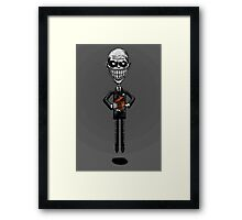 The Floating Gentlemen Framed Print