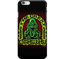Great Cthulhu ( En Scarlette ) iPhone Case/Skin