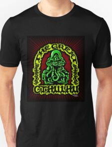 Great Cthulhu ( En Scarlette ) Unisex T-Shirt