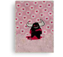 fuzzy demon ladykiller Canvas Print