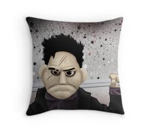Angel - Smile Time Puppet Throw Pillow