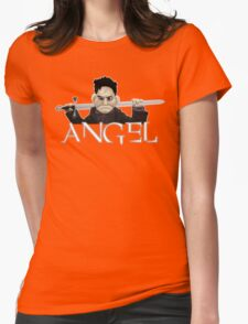Angel - Smile Time Puppet Womens Fitted T-Shirt