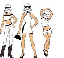 Stormtroopers After Dark by austygreen