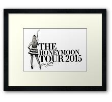 The Honeymoon Tour #1 Framed Print