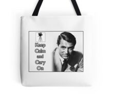 Keep Calm and Cary On Tote Bag