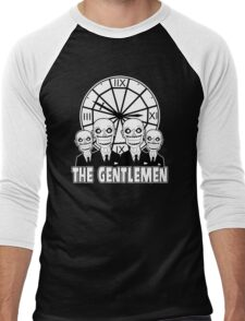 The Gentlemen Logo Men's Baseball ¾ T-Shirt
