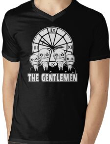 The Gentlemen Logo Mens V-Neck T-Shirt