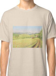 Tuscan Farmhouse, Tuscany, Italy Classic T-Shirt
