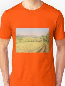 Tuscan Farmhouse, Tuscany, Italy Unisex T-Shirt
