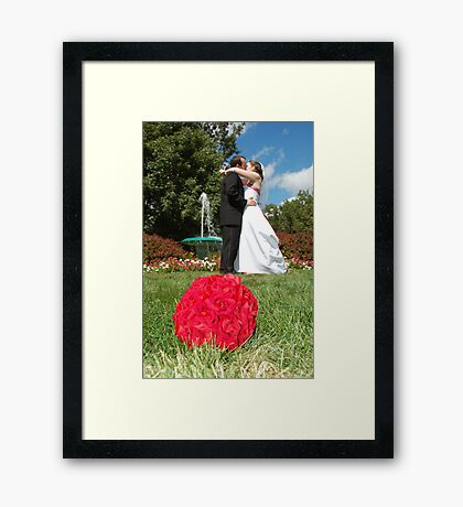 The foutaine Framed Print